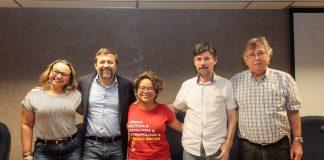 Danyelle Nilin, Élcio Batsita, Mariana Lacerda, Jackson Aquino E César Barreira 2