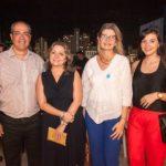 Eduardo Cavacante, Yara Senna E Laura Paiva E Raquel Leite