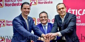 Gustavo Ene Romildo Rolim e Eduardo Diogo 1 324x160 - Sebrae e Banco do Nordeste firmam acordo para fortalecer os pequenos negócios