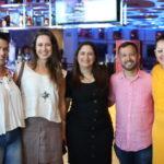Juliana De Fátima, Rina Fontenelle, Juliana Bonfim, Lucilio Lessa E Poliana Ramalho