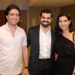 Lucas Pontes, Pedro Garcia E Carla Laprovítera