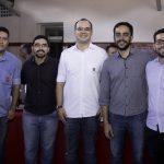 Sidney Gomes, Lucas Oliveira, Dimitri Cysne, Thiago Parente E Davi Bezerra