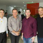 Leonardo Girão Sérgio Macêdo Flávio Alves e Aderaldo Soares 150x150 - Flash Imobiliário apresenta os resultados do setor no mês de novembro