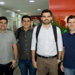 Pedro Vieira Romário Lopes Daniel Queiroz e Paulo Machado 150x150 - Flash Imobiliário apresenta os resultados do setor no mês de novembro