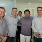 Sérgio Macêdo Ricardo Bezerra Marcos Novais e José Carlos Gama 150x150 - Flash Imobiliário apresenta os resultados do setor no mês de novembro
