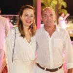Adriana e Roni Ximenes 150x150 - Branca e Racine Mourão comemoram aniversário com white party