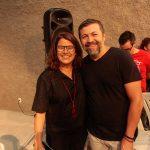 Ana Soter e Élcio Batista 1 150x150 - Livro de Joca Reiners Terron é lançado no Porto Iracema