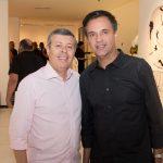 """Anastácio Marinho e Fernando Novais 150x150 - LIDE Ceará faz preview de exposição """"Leonilson por Antônio Dias"""""""