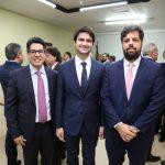 Andrei Aguiar Pedro Gomes de Matos e Cassio Pacheco 150x150 - Kamile Castro é empossada juíza do TRE-CE