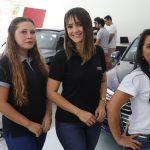 Andreza Alencar Cizy Macedo e Karine Nascimento 150x150 - Audi Center Fortaleza recebe clientes com feijoada