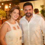 Anik Mourao e Clovis Holanda 150x150 - Branca e Racine Mourão comemoram aniversário com white party