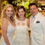 Branca Anik e Racine Mourão 150x150 - Branca e Racine Mourão comemoram aniversário com white party