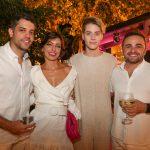 Bruno Frota Bianca Cipola Valmir Lins e Ramiro Mendes 150x150 - Branca e Racine Mourão comemoram aniversário com white party