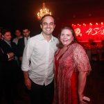 Capitão Wagner e Fernanda Pessoa 150x150 - Corpvs Segurança comemora 45 anos com festa no La Maison