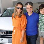 Carol Palacio Silvio Palacio e Antonio Palacio 150x150 - Audi Center Fortaleza recebe clientes com feijoada
