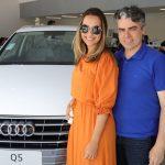 Carol e Silvio Palacio 150x150 - Audi Center Fortaleza recebe clientes com feijoada