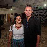 Carolina Vieira e Ediberto Mendes 1 150x150 - Livro de Joca Reiners Terron é lançado no Porto Iracema