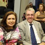 Claudia Patricio e Wilson Vicentino 150x150 - Kamile Castro é empossada juíza do TRE-CE