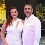 Cristiane Diógenes e Wil Maranhão 150x150 - Branca e Racine Mourão comemoram aniversário com white party
