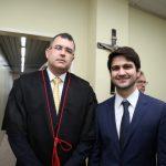 Daniel Peixoto e Pedro Gomes de Matos 150x150 - Kamile Castro é empossada juíza do TRE-CE