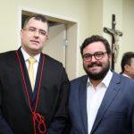 Daniel Sombra e Alcimor Rocha 150x150 - Kamile Castro é empossada juíza do TRE-CE