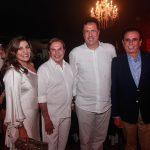 Daniele Lopes Lázaro Medeiros Ricardo Lopes e Gaudêncio Lucena 150x150 - Corpvs Segurança comemora 45 anos com festa no La Maison