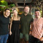 Deda Gomes Carmen Rangel Adriano Nogueira e Herlson Dias 150x150 - Moleskine inicia programação de pré-carnaval ao som de DJs