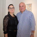 """Denise e Luciano Cavalcante 150x150 - LIDE Ceará faz preview de exposição """"Leonilson por Antônio Dias"""""""