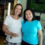 Dina Boto e Veronica Barbosa 150x150 - Volvo GNC Suécia realiza café da manhã especial na CB Fitness