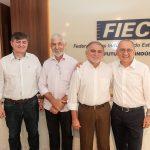 Ebart Melo Lauro Martins Reginaldo Braga e Valdelírio Soares 150x150 - FIEC recebe Rogério Simonetti em palestra para convidados