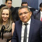 Elizangela e Everardo Lima 150x150 - Kamile Castro é empossada juíza do TRE-CE