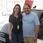 Erika Bessa e Marcos Viveiros 150x150 - Audi Center Fortaleza recebe clientes com feijoada