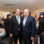 Erinaldo Dantas e Ricardo Cavalcante 150x150 - FIEC recebe Rogério Simonetti em palestra para convidados