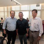 Fernando Ximenes Benildo Aguiar e Elias Carlos 150x150 - FIEC recebe Rogério Simonetti em palestra para convidados
