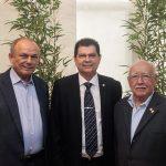 Honório Pinheiro Mauro Filho e Ubiratan Aguiar 150x150 - FIEC recebe Rogério Simonetti em palestra para convidados