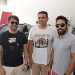 Joao Filho Andersson Rocha e Marcos José 150x150 - Audi Center Fortaleza recebe clientes com feijoada