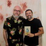 Joca Reiners Terron e Élcio Batista 1 150x150 - Livro de Joca Reiners Terron é lançado no Porto Iracema