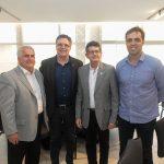 José Antunes José Carlos Gama Agostinho Alvantara e Gama Filho  150x150 - FIEC recebe Rogério Simonetti em palestra para convidados