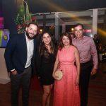 Junior e Erica Gadelha Ana Paula e Leonardo Araújo 150x150 - Corpvs Segurança comemora 45 anos com festa no La Maison