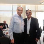 Jurandir Picanço e Beto Studart 150x150 - FIEC recebe Rogério Simonetti em palestra para convidados