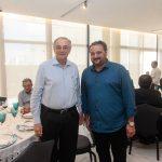 Jurandir Pincanço e Patriolino Dias 150x150 - FIEC recebe Rogério Simonetti em palestra para convidados
