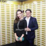 Karine e Danilo Coimbra 150x150 - Corpvs Segurança comemora 45 anos com festa no La Maison