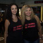 Lana Veras e Lucherlly Tavares 150x150 - Volvo GNC Suécia realiza café da manhã especial na CB Fitness