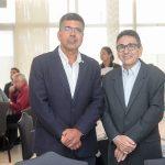Lauro Chaves Neto e Agostinho Alcântara 150x150 - FIEC recebe Rogério Simonetti em palestra para convidados