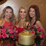 Lilian Porto Letícia Studart e Susane Farias 150x150 - Letícia Studart celebra aniversário ao lado de amigos