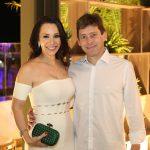 Lorena e Carlos Gondim 150x150 - Branca e Racine Mourão comemoram aniversário com white party