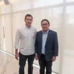 Luiz Fernando e  150x150 - FIEC recebe Rogério Simonetti em palestra para convidados