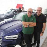 Madeu Alcoforado e Madeu Alcoforado Filho 150x150 - Audi Center Fortaleza recebe clientes com feijoada