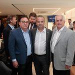 Manoel Linhares Rogério Simonetti e José Antunes  150x150 - FIEC recebe Rogério Simonetti em palestra para convidados