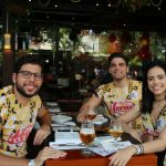 Marcelo Mendonça Carlos Gazelli e Thais Midauar 150x150 - Moleskine inicia programação de pré-carnaval ao som de DJs